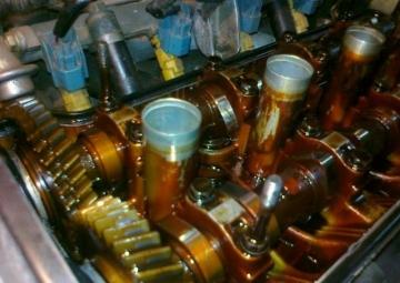 моторное масло , автомобили.отложения в двигателе.